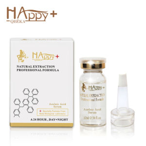 Skin Care Manufacturer Cosmetics Happy+ Azelaic Acid Serum Cosmetic (10ml) Skin Lightening Serum Oil Control Serum Shriking Pores pictures & photos