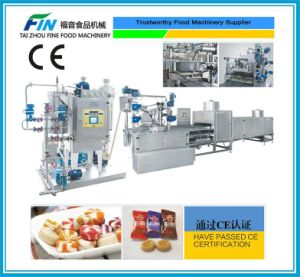 Full Automatic Candy Making Machine for Hard Candy, Stripe Candy pictures & photos