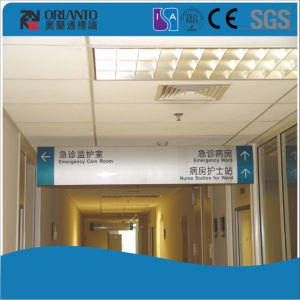 Aluminium Suspending Office Curved Sign pictures & photos