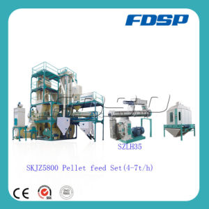 Small Animal Poultry Pellet Feed Production Plant for Sale pictures & photos