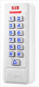 New Plastic Keypad Access Control with Two Relays pictures & photos