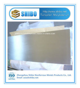 Factory Sell Cold Rolled Molybdenum Sheet with High Purity 99.95% pictures & photos