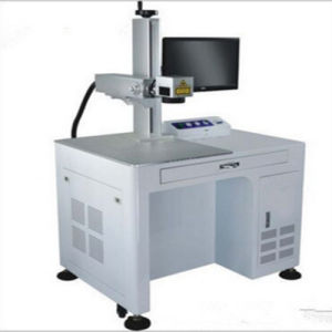 80W High Precision Marble Fiber Laser Marking Machine for Chip Manufacturing Jieda pictures & photos