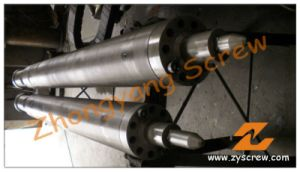 Single Screw and Barre for Injection Molding Machine/ HDPE PP PE ABS pictures & photos