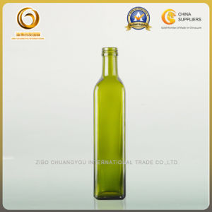 750ml Square Screw Cap Olive Oil Bottle (020) pictures & photos