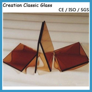 5mm Golden Bronze Float Glass, Golden Bronze Reflective Glass 3300*2140mm pictures & photos