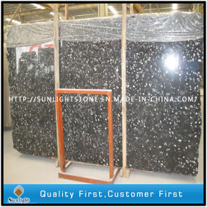 China Black Sea Marble Slabs for Kitchen Wall/Floor Tiles pictures & photos