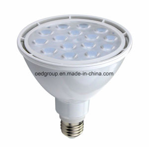 High Power 16W PAR38 LED Bulbs with Aluminum Radiator White Case and 5700k 1400lm pictures & photos