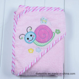 Competitive Cotton Baby Hooded Bath Towel Supplier pictures & photos