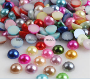 Free Sample 2mm-25mm Loose ABS Half Cut Pearls Flatback Plastic Half Round Pearls for Phone Decoration (FB-2mm-25mm) pictures & photos