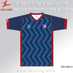 Healong New Fully Dye Sublimation Uniform Soccer Jersey pictures & photos