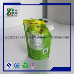 Promotion Stand-up Packaging Plastic of Washing Powder Bag (ZB266) pictures & photos