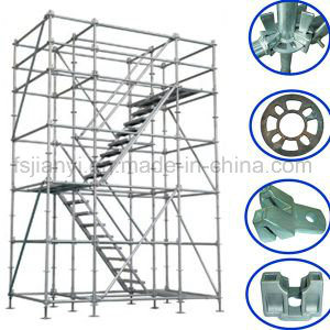Fast Erection Dismantling Steel Ladder Scaffold pictures & photos