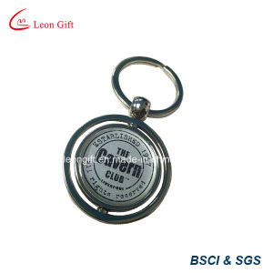 Wholesale Round Rotating Custom Keychain pictures & photos