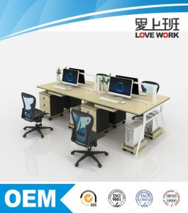 Office Desk Set Office Partition Workstation for 4 Person