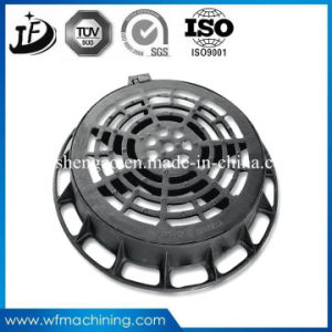 Ductile Iron Sand Casting Manhole Cover with Coating/Painting Service pictures & photos
