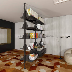 Uispair Decorative Space Partititon Newspaper Magazine Rack Book Rack Bookcase pictures & photos