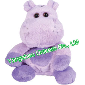 CE Soft Stuffed Animal Luxury Fur Hippo Plush Toy pictures & photos