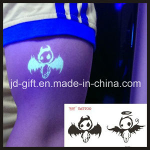 Glow in The Dark Body Tattoo Sticker with Customized Design pictures & photos