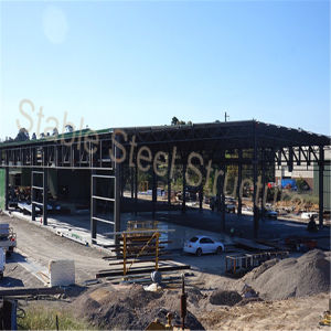 Light Steel Structure Prefabricated Workshop in Chile pictures & photos