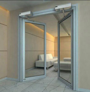 Automatic Swing Door with Shutter System (DS-S180) pictures & photos