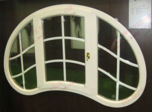 UPVC/PVC Unique Shape of Casement Windows (BHP-CWA16) pictures & photos