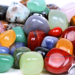Semi Precious Stone Tumbled Nugget Crafts (ESB01672) pictures & photos