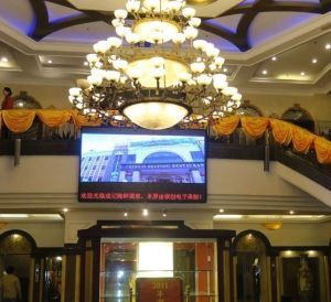 P7.62 Full Color Hotel LED Display with Clear Picture or Video pictures & photos
