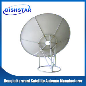 C Band 300cm Satellitedishantenna with Ground Mount Base