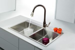 Orb Finish Pull out Kitchen Water Faucet pictures & photos