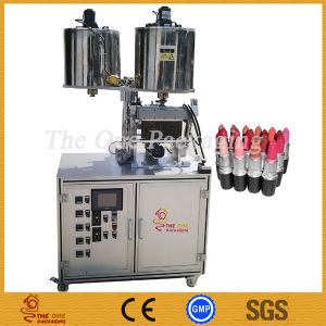 12 Nozzle Lipstick Filling Machine/ Lipsticks Filler with Hopper pictures & photos