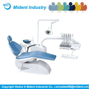 Top-Mounted Electric Dental Unit Dental Chair pictures & photos