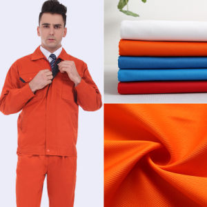 Perfect Stiffness Polyester Cotton Twill Workwear Fabric pictures & photos