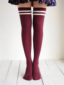 Lovely Girl Long Style Over Knee High Socks pictures & photos