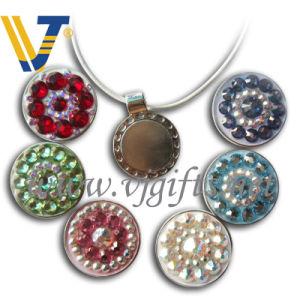 Lady Hat Clip Necklace Pendant