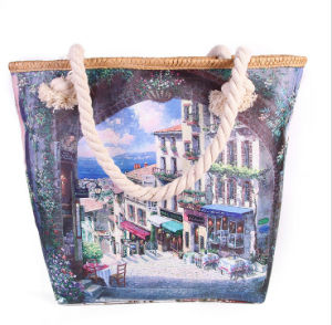 Fashion New Handbags Europe and America Town Fashion Printing Shoulder Bag pictures & photos