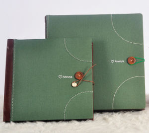 Classic Cloth Picture Albums for Wedding Shops (PA-021) pictures & photos
