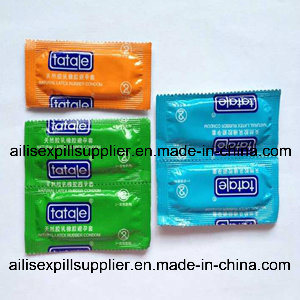 Natural Latex Condoms for Men Sex Products (CD004) pictures & photos