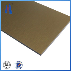 PE and PVDF Aluminium Composite Plastic Panel pictures & photos