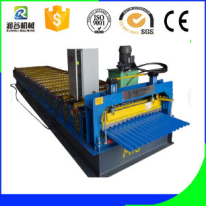 Galvanized Steel Sheet Corrugated Roof Forming Machine pictures & photos