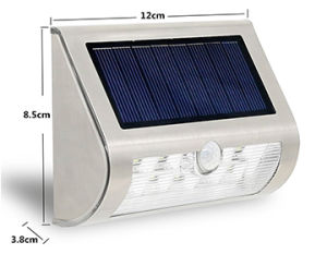 Top Sale Outdoor Motion Sensor Solar Wall Light for Sale pictures & photos