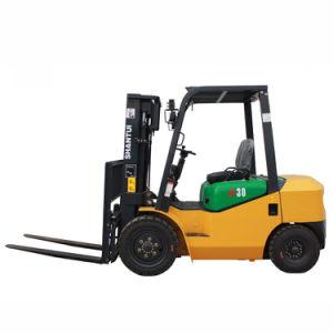 3.5ton Triple 3mast Diesel Forklift pictures & photos
