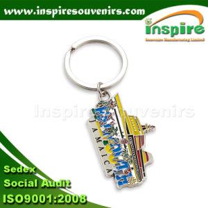 Boat Shape Metal Keychain for Souvenir pictures & photos