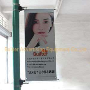 Metal Street Pole Advertising Banner Base (BS-HS-017) pictures & photos