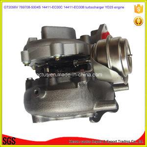 Gt2056V Yd25 Turbo 769708-5004s 14411-Ec00c 14411-Ec00b Turbocharger for Nissan