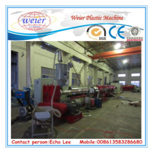 PE Water and Gas Pipe Production Machine From 110mm to 400mm pictures & photos