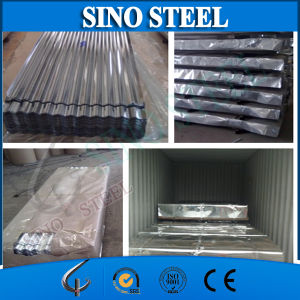 Hot DIP Z40-Z120g Galvanized Corrugated Zinc Roofing Sheet pictures & photos