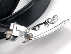 Dress Black Leather Belts for Men (HPX-160704) pictures & photos