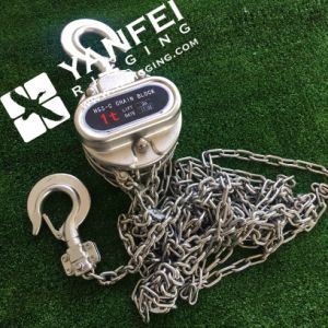 Stainless Steel Chain Block Hoist pictures & photos