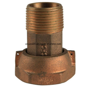 Lead Free Bronze Water Meter Coupling (ITW009) pictures & photos
